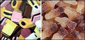 Le caramelle Haribo